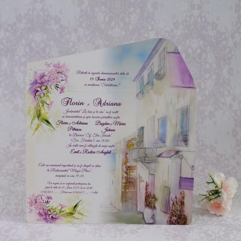Invitatie de nunta 2207. Poza 6941