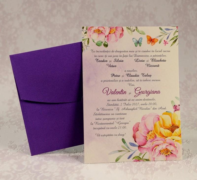 Invitatie de nunta 2210. Poza 6965