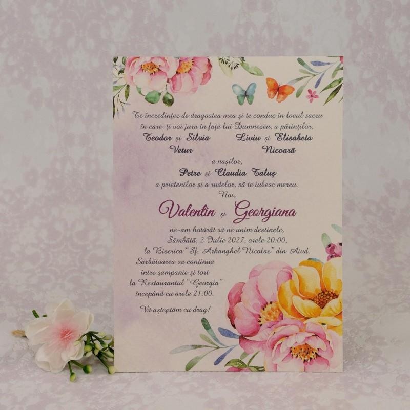Invitatie de nunta 2210. Poza 6967