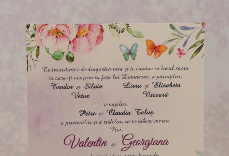 Invitatie de nunta 2210. Poza 6968