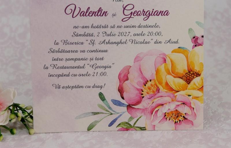 Invitatie de nunta 2210. Poza 6969