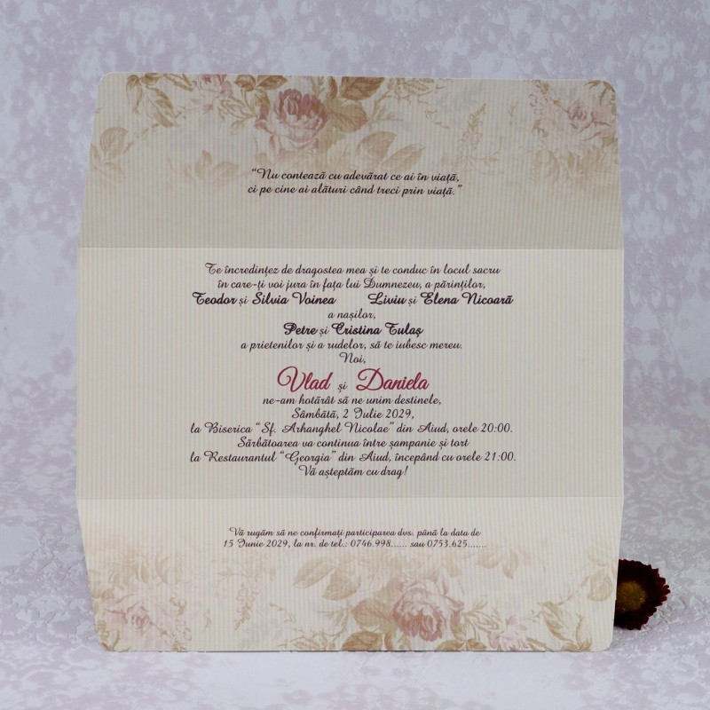 Invitatie de nunta 2211. Poza 6976