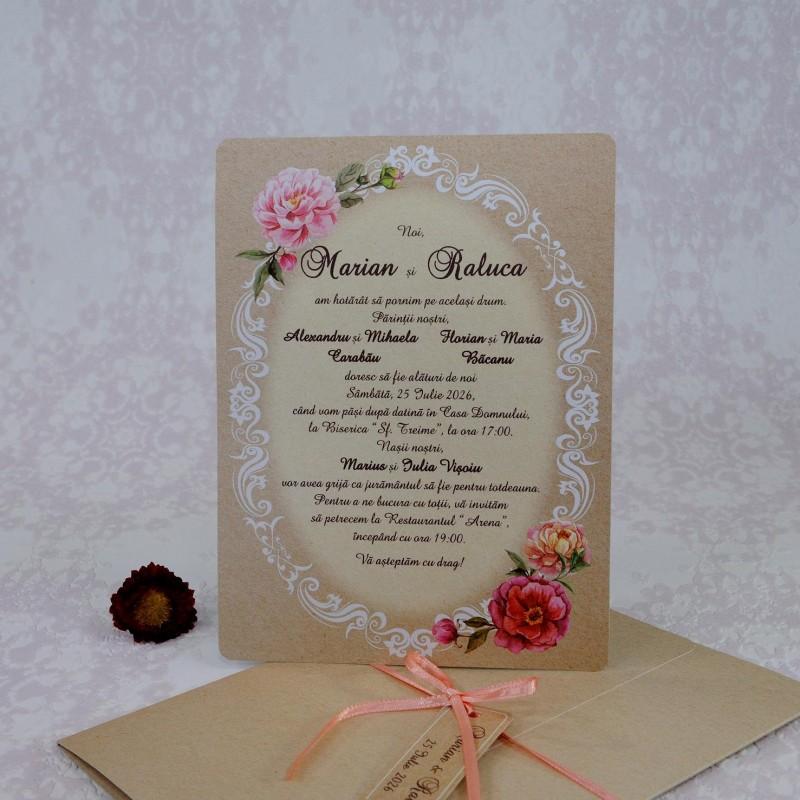 Invitatie de nunta 2215. Poza 7002