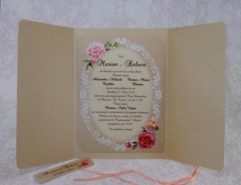 Invitatie de nunta 2215. Poza 7004