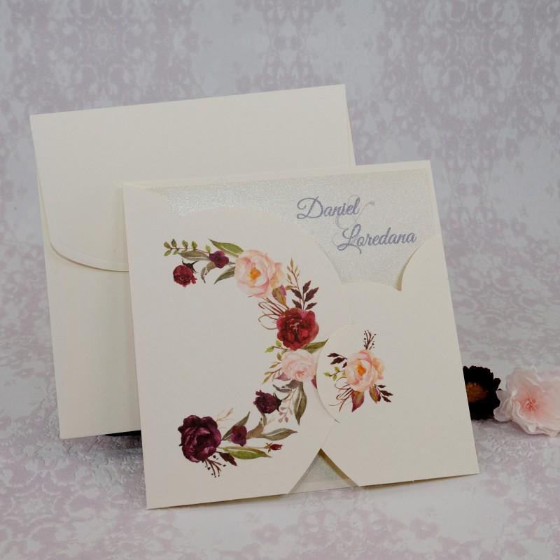 Invitatie de nunta 2221. Poza 7053