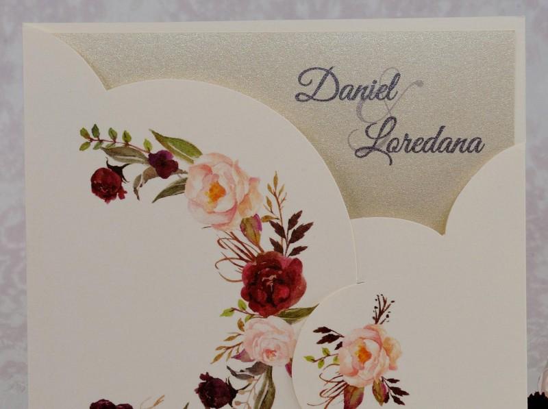 Invitatie de nunta 2221. Poza 7056