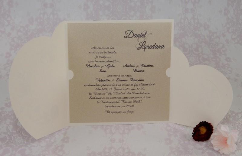 Invitatie de nunta 2221. Poza 7057
