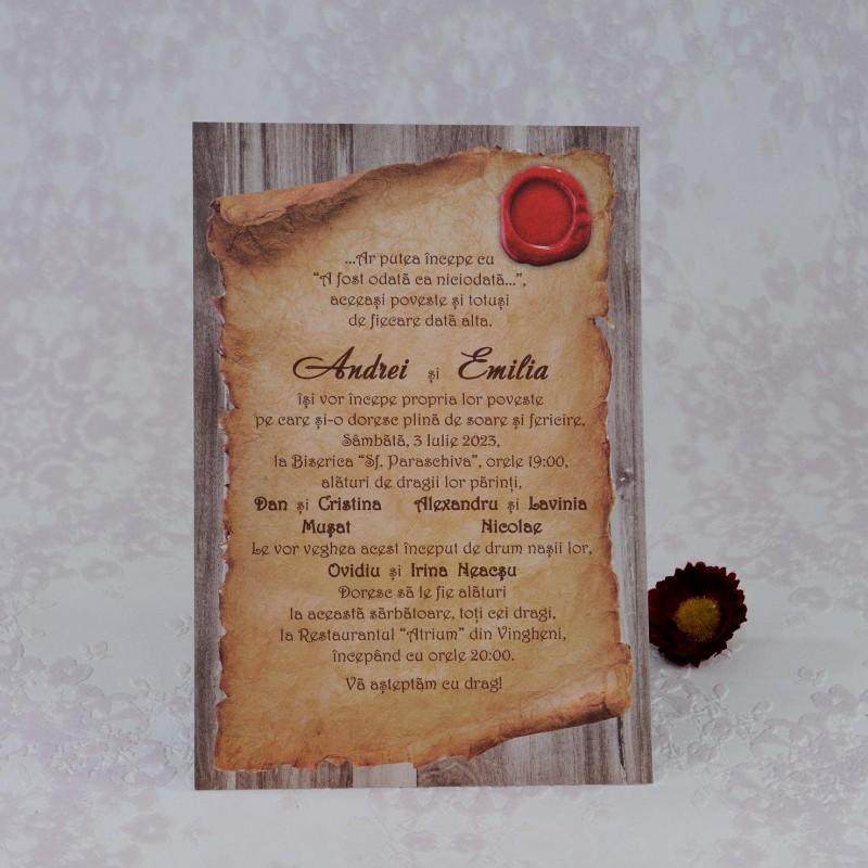 Invitatie de nunta 2231. Poza 7084