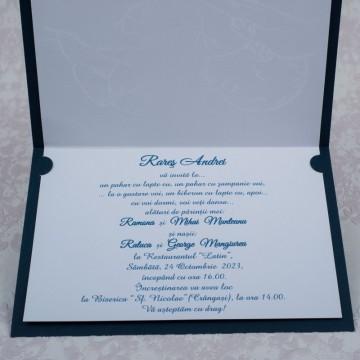 Poza Invitatie de botez 8012. Poza 5558
