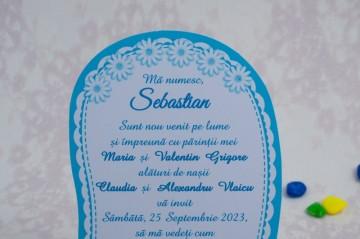 Poza Invitatie de botez 8027. Poza 5681