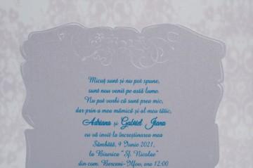 Poza Invitatie de botez 8149. Poza 5719