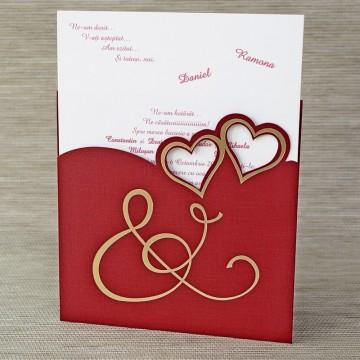 Poza Invitatie de nunta 1129. Poza 6825