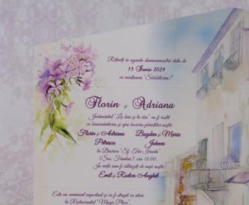 Poza Invitatie de nunta 2207. Poza 6942