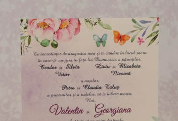 Poza Invitatie de nunta 2210. Poza 6968