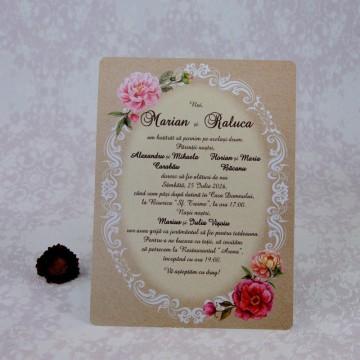Poza Invitatie de nunta 2215. Poza 7003