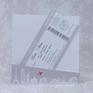 Poza Invitatie de nunta 2219. Poza 7033