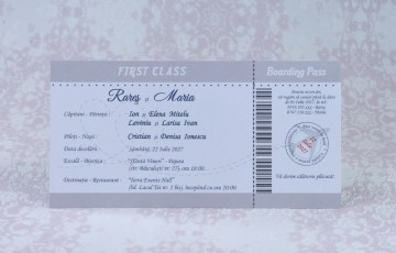 Poza Invitatie de nunta 2219. Poza 7034