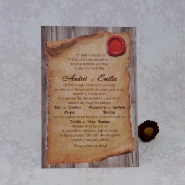 Poza Invitatie de nunta 2231. Poza 7084