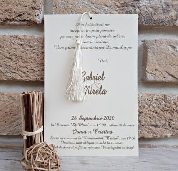 Poza Invitatie de nunta 2734. Poza 8043